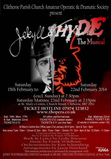 Clitheroe Parish Church Amateur Operatic & Dramatic Society