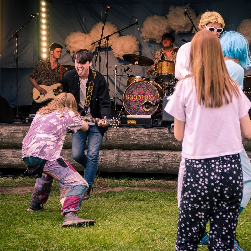Cloudspotting, Ribble Valley, Lancashire, Uk, music festival, music event, live music