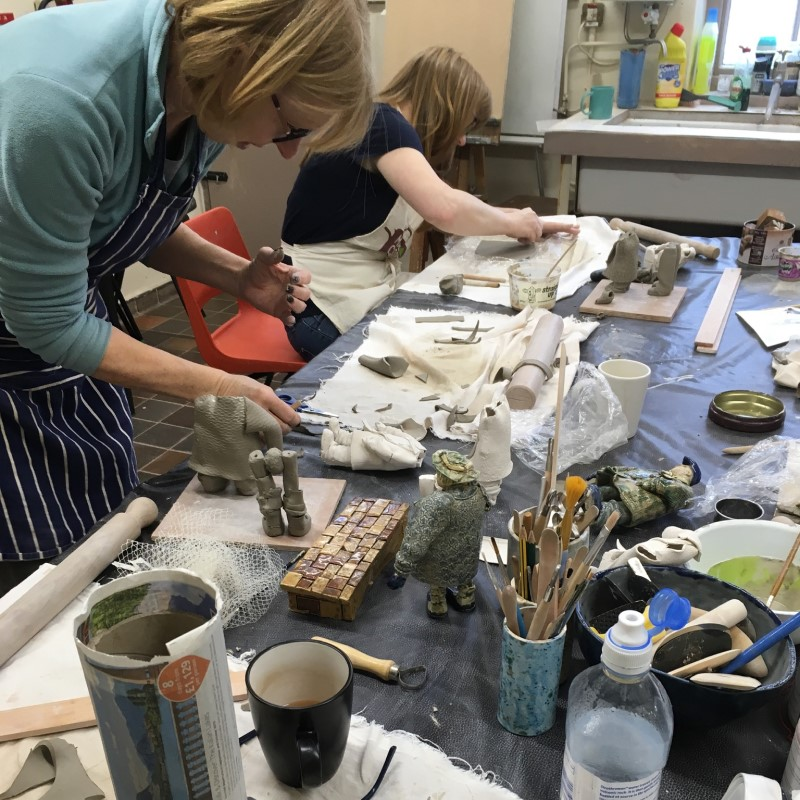 Down To Earth Pottery, Ribble Valley, Lancashire, UK, Classes, Craft