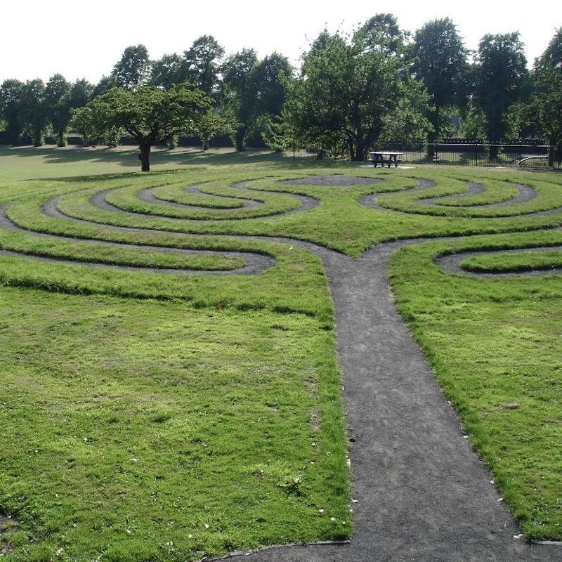 Labyrinth, Ribble Valley, Lancashire, UK, Public Art, Venues
