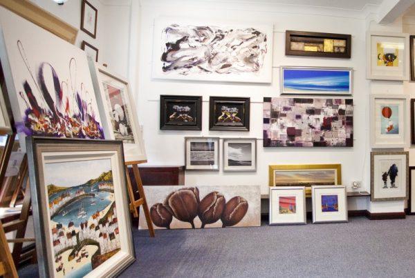Longridge Art Gallery, RibbleValley, Lancashire, UK, Gallery