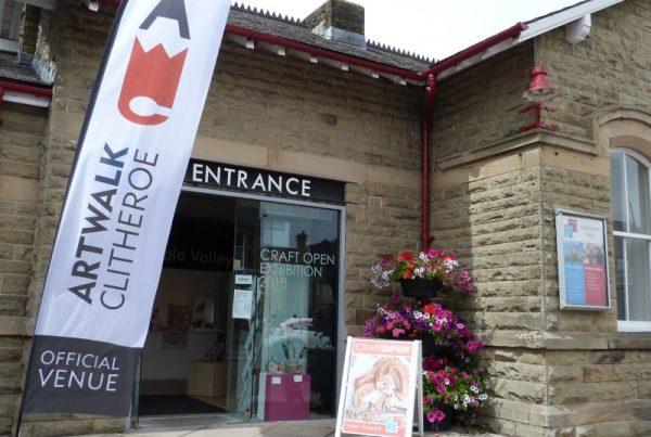 Artwalk Clitheroe, Ribble Valley, Lancashire, UK, Events