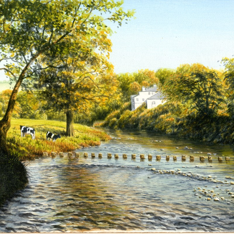 Rollinson Gallery, Ribchester, Ribble Valley, Lancashire, UK, Gallery, Fine Art