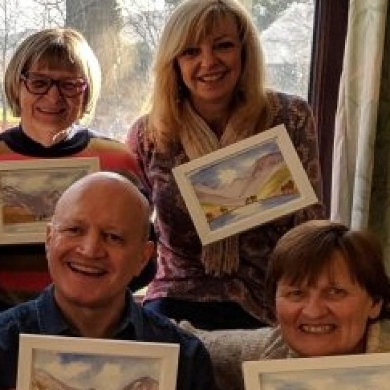 Hugh Templeton, Ribble Valley, Lancashire, Uk, Art Classes